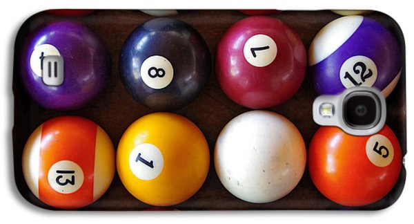 Recreation Photographs Galaxy S4 Cases - Snooker Balls Galaxy S4 Case by Carlos Caetano