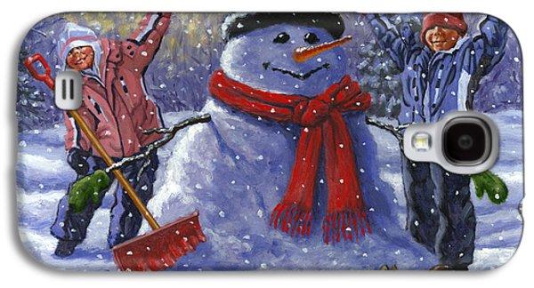 Snow Day Galaxy S4 Case by Richard De Wolfe