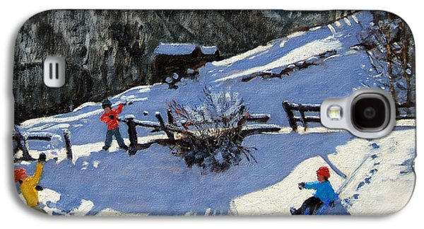 Snowballers Galaxy S4 Case by Andrew Macara