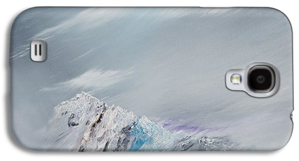 Snow Capped Galaxy S4 Cases - Snowdon Galaxy S4 Case by Vincent Alexander Booth