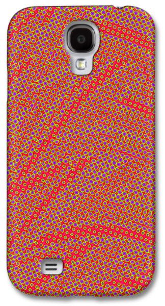 Abstract Digital Tapestries - Textiles Galaxy S4 Cases - So Dizzy Galaxy S4 Case by Suzi Freeman