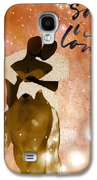 African-american Galaxy S4 Cases - So In Love One Galaxy S4 Case by Romaine Head