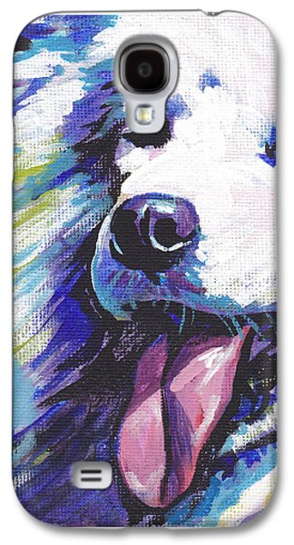 Puppies Galaxy S4 Cases - So Sammy Galaxy S4 Case by Lea