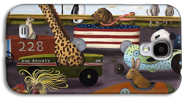 Soap Box Derby Galaxy S4 Case by Leah Saulnier The Painting Maniac
