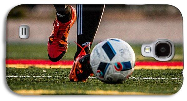 Soccer Galaxy S4 Case by Hyuntae Kim