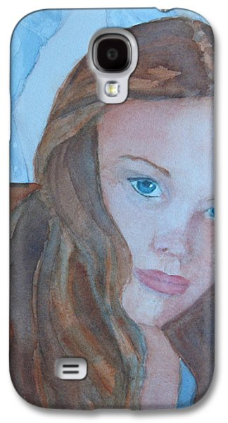 Girl Galaxy S4 Cases - Soft Steel Galaxy S4 Case by Jenny Armitage