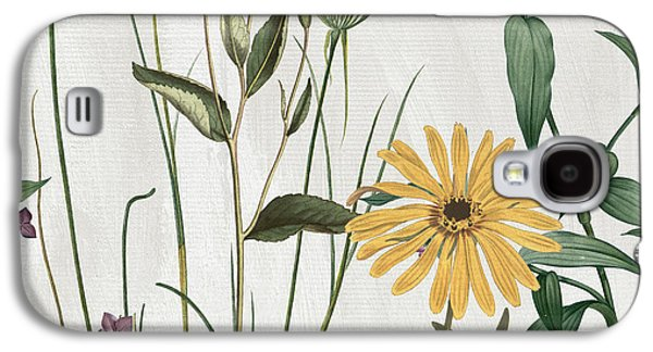Softly Crocus And Daisy Galaxy S4 Case by Mindy Sommers