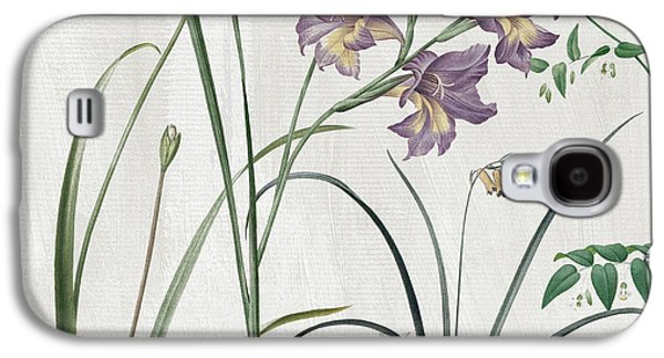 Softly Purple Crocus Galaxy S4 Case by Mindy Sommers
