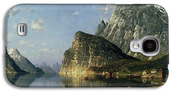 Norway Galaxy S4 Cases - Sogne Fjord Norway  Galaxy S4 Case by Adelsteen Normann