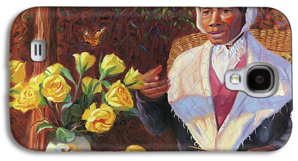 Slaves Galaxy S4 Cases - Sojourner Truth Galaxy S4 Case by Steve Simon