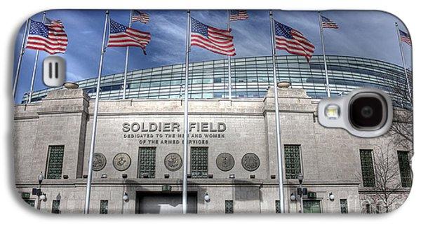 Soldier Field Galaxy S4 Case by David Bearden
