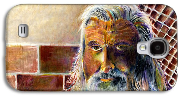 Jail Paintings Galaxy S4 Cases - Solitary Galaxy S4 Case by Arline Wagner