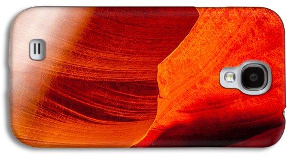 Solitary Beam Galaxy S4 Case by Az Jackson
