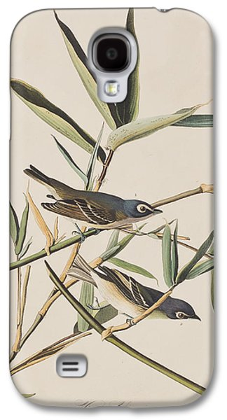 Solitary Flycatcher Or Vireo Galaxy S4 Case by John James Audubon