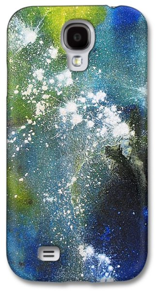 Abstracted Galaxy S4 Cases - Somewhere Out There Galaxy S4 Case by Louise Adams