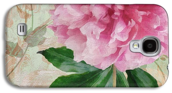 Sonata Pink Peony II Galaxy S4 Case by Mindy Sommers