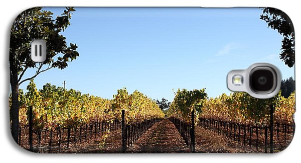 Sonoma County Vineyards. Galaxy S4 Cases - Sonoma Vineyards - Sonoma California - 5D19314 Galaxy S4 Case by Wingsdomain Art and Photography
