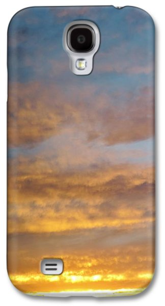 Contemplative Photographs Galaxy S4 Cases - Soothing Sunset Galaxy S4 Case by Margaret Bobb