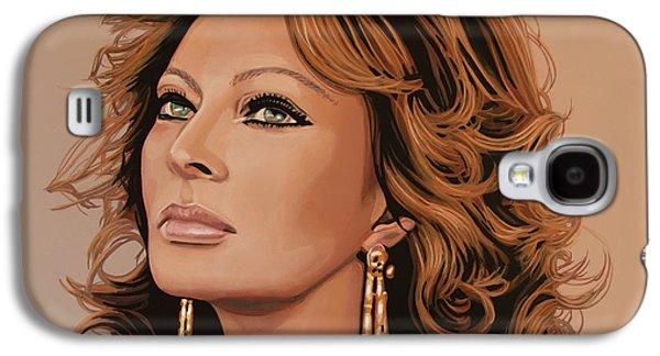 Sophia Loren Glamour Galaxy S4 Case by Paul Meijering