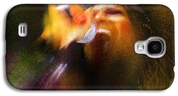 Elton John Galaxy S4 Cases - Soul Scream Galaxy S4 Case by Miki De Goodaboom