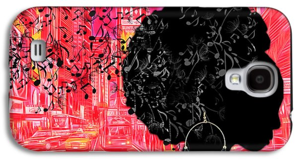 African-american Galaxy S4 Cases - Sound of Music Collection Galaxy S4 Case by Marvin Blaine