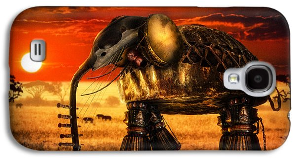 Surreal Landscape Galaxy S4 Cases - Sounds of Cultures Galaxy S4 Case by Alessandro Della Pietra