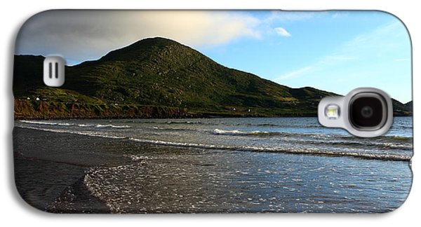 Beach Landscape Galaxy S4 Cases - South Coast Of Ireland Galaxy S4 Case by Aidan Moran