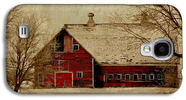 Sheds Galaxy S4 Cases - South Dakota Barn Galaxy S4 Case by Julie Hamilton