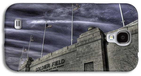 Soldier Field Galaxy S4 Cases - South end Soldier Field Galaxy S4 Case by David Bearden