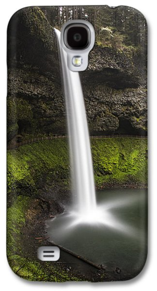 South Falls In Silver Falls State Park Galaxy S4 Case by John McGraw