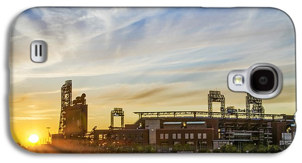 South Philly Sunrise - Citizens Bank Park Galaxy S4 Case by Bill Cannon