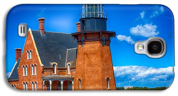 Light Galaxy S4 Cases - Southeast Lighthouse Galaxy S4 Case by Karol  Livote