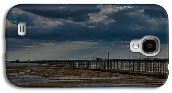 North Sea Galaxy S4 Cases - Southend Pier Galaxy S4 Case by Martin Newman