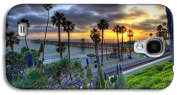 Coast Galaxy S4 Cases - Southern California Sunset Galaxy S4 Case by Sean Foster