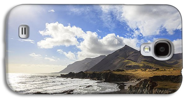 Sun Galaxy S4 Cases - Southern coast of Iceland Galaxy S4 Case by Alexey Stiop