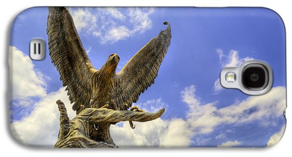 Hattiesburg Galaxy S4 Cases - Southern Miss Golden Eagles Galaxy S4 Case by JC Findley