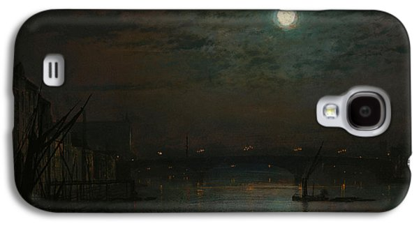 Southwark Bridge By Moonlight Galaxy S4 Case by John Atkinson Grimshaw