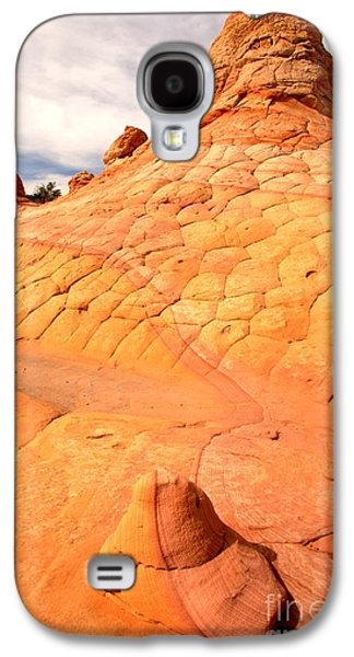 Surreal Landscape Galaxy S4 Cases - Southwest Sandstone Brilliance Galaxy S4 Case by Adam Jewell