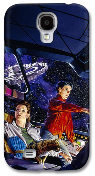 Space Explorers Galaxy S4 Case by Richard Hescox