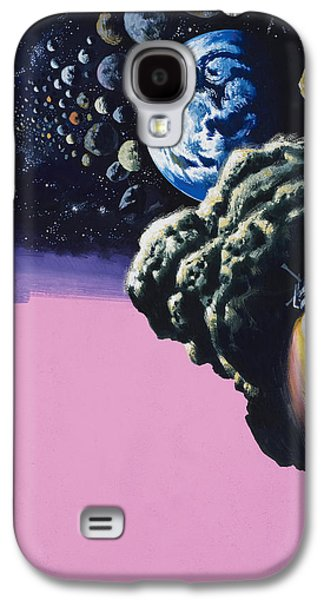 Space Galaxy S4 Case by Wilf Hardy