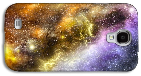 Solar Eclipse Galaxy S4 Cases - Space005 Galaxy S4 Case by Svetlana Sewell