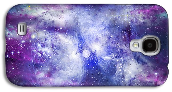 Solar Eclipse Galaxy S4 Cases - Space009 Galaxy S4 Case by Svetlana Sewell