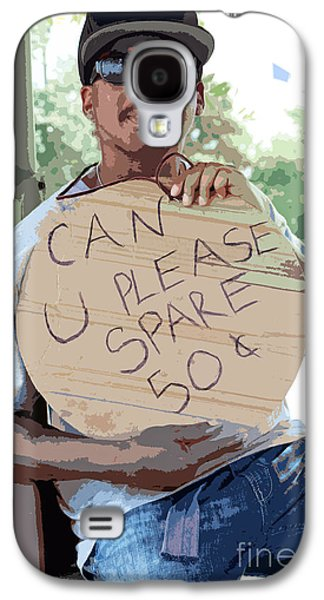 Urban Images Galaxy S4 Cases - Spare Change Galaxy S4 Case by Joe Jake Pratt