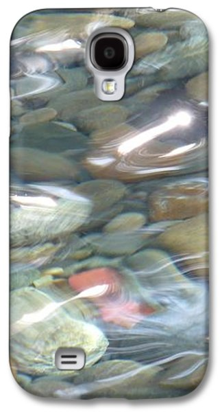 Waterscape Galaxy S4 Cases - Sparkling Water on Rocky Creek 2 Galaxy S4 Case by Carol Groenen