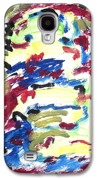 Psychiatry Paintings Galaxy S4 Cases - Spatial Outwardness Galaxy S4 Case by Esther Newman-Cohen