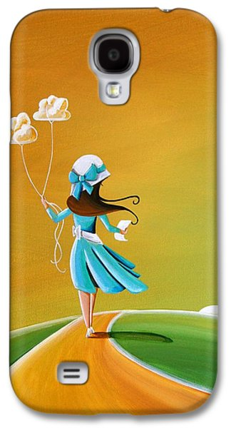Girl Galaxy S4 Cases - Special Delivery Galaxy S4 Case by Cindy Thornton