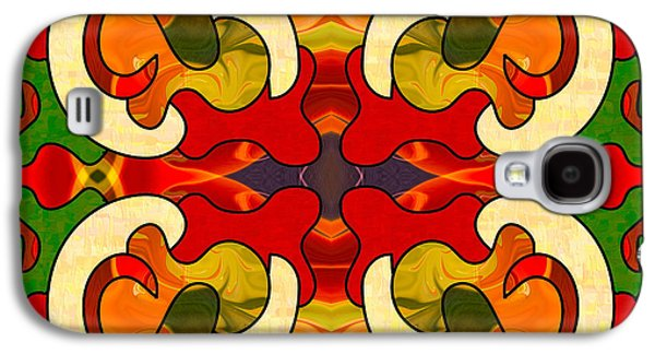 Specialized Suggestions Abstract Art By Omashte Galaxy S4 Case by Omaste Witkowski