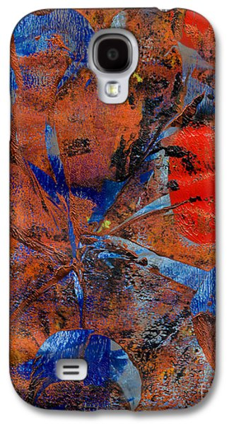 Abstract Digital Mixed Media Galaxy S4 Cases - Sphincter Galaxy S4 Case by Laura L Leatherwood