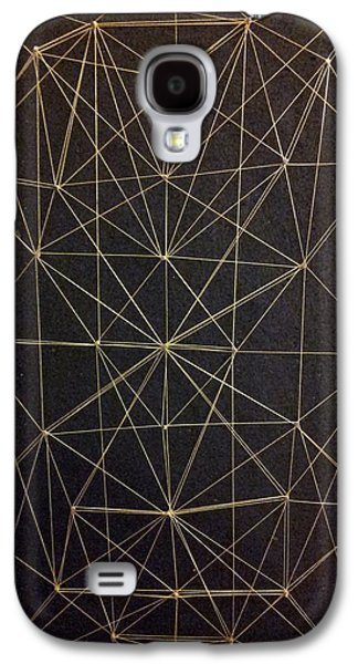 Abstract Forms Reliefs Galaxy S4 Cases - Spider web Galaxy S4 Case by William Douglas