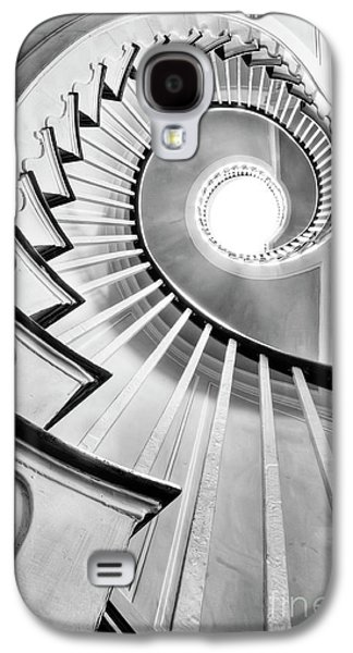 Black And White Galaxy S4 Cases - Spiral Staircase Lowndes Grove  Galaxy S4 Case by Dustin K Ryan